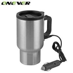 12 v 450 ml Auto Car Heating Cup En Cargador de Coche de Acero Inoxidable Café Té Calentador de Agua Adaptador de Encendedor de Cigarrillos Estilo