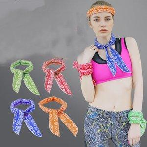 Mling 1 ADET Spor Buz Havlu 5 Renk Programı Kalıcı Anında Soğutma Yüz Havlu Isı Tahliye Kullanımlık Chill Serin