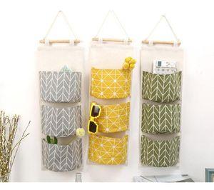 Free Shipping Waterproof Storage Bag Wardrobe Closet Storage Bag Hanging Toy Cosmetic Sundries Hanging Storage Box