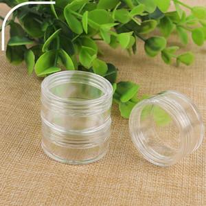 10g 20g 30g transparentes de plástico botella cosméticos cara tarro de crema para los ojos crema crema botella separada botella máscara