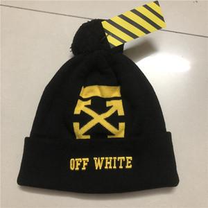 الجملة 20 العلامة التجارية اختيار أحدث تصميم أعلى جودة العلامة التجارية بيني القبعات الخريف الشتاء الهيب هوب الأبيض قبعة قبعة الرجال قبعات التريكو الجمجمة