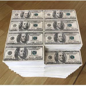 Personnalité créative Résine USD Dollar Bill Modèle Décoration idée boutique chanceux décoration Articles d'affichage Props Nouveauté