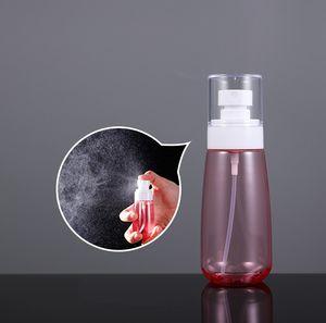 Esvaziar Cosmetic Makeup garrafa spray facial de plástico PETG Álcool Container Loção Atomizador 30ml 60ml 80ml 100ml Garrafas amostra de perfume Pulverizador