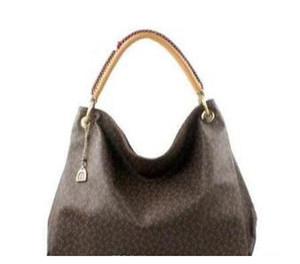 Mulheres designer de moda bolsa de ombro da lona Artsy bolsas de couro genuíno ombro M40249 M41066 sacos grande sacola 635
