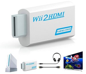 Full HD 1080P Wii to HDMI Converter Wii2hdmi Converter 3.5 mm Audio For PC HDTV Monitor Display