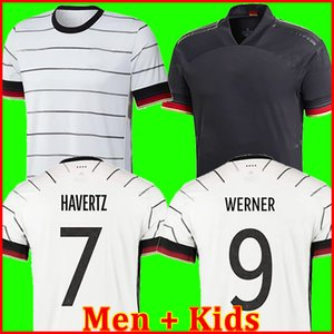 Allemagne 2020 Maillot football Kit HUMMELS kroos Draxler REUS MULLER GÖTZE football Coupe d'Europe des chemises uniformes hommes + kit enfants