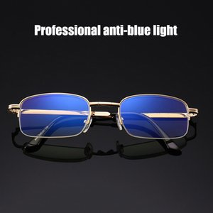 Factory Price New High-end Crystal Folding Reading Glasses Wholesale Anti-blue Glasses Lenses With Glasses Case Free Shipping Y1002