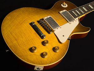 한 조각의 목, 일렉트릭 기타 더러운 레몬 사용자 정의 된 기타