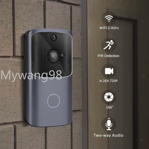 2020 New WIFI Visual Smart Home Doorbell Remote Monitoring Mobile Phone Video Voice Intercom Doorbell Home Smart Video Voice Intercom Alarm