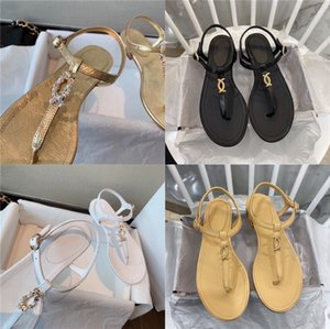 43 Large Bead Sandals Women 2020 Summer New European And American Handmade Beaded Fashion Women Shoes#519