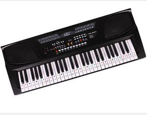 88 teclas de piano pegatina pegatinas 61 pegatinas de piano pegatinas de teclado de piano 54