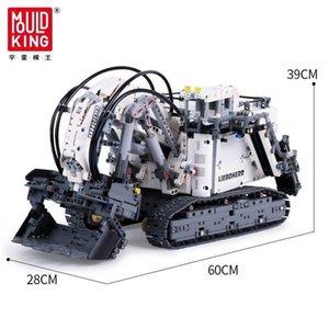 Legoed Technic serisi ile uyumlu 42100 Tuğlalar Liebherrs Ekskavatör R9800 Motor Gücü Araç Modeli Kiti Yapı Taşları OYUNCAKLAR Hediye