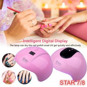 36Вт USB для ногтей сушилка Star7 Star8 УФ LED светильника 30/60/таймер 90х быстрое отверждение всех гелей