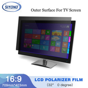 10PCS / Lot 새로운 32inch 0도 광택 709MM * 403MM LCD 편광판 LCD 용 LCD TV 용 TFT 스크린