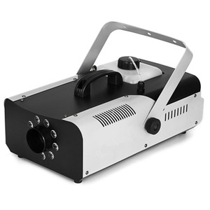 New IN 1500W Smoke Fog Machine 9 LED Lights Remote Control Fogger For Ceremony DJ Stage