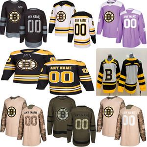 2019 Новости Бостон Брюинз Хоккейные майки Несколько стилей Мужские Пользовательские Любое имя Любое число Хоккейные майки