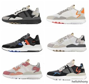2019 Nite Jogger Mens Running Shoes Fashion Retro CG7088 3M Popcorn Women Designer Shoes Sports Casual Walking Outdoors Athletic Sneakers