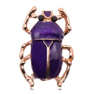 Капельное масло насекомых Брошь Сжатый Темперамент животных украшения Pin Брошь