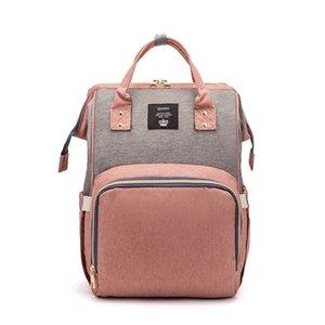 Fashion USB Mummy Maternity Diaper Bags Large Nursing Travel Backpacks Designer Stroller Baby Care Nappy Backpack