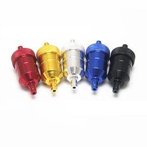 Универсальный 8 мм бензин газ топливный фильтр очиститель для мотоцикла яма велосипед грязи ATV Quad масло газовый топливный фильтр