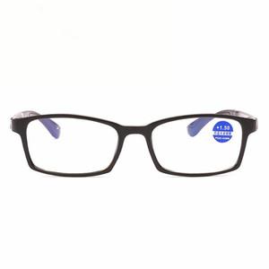 Carré Plein cadre Lunettes de lecture unisexe coloré mode lunettes de lecture Hommes Femmes verre téléobjectif lunettes de presbyte 8011