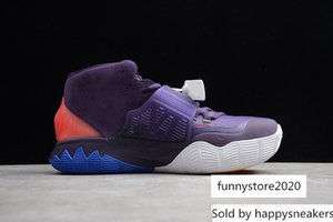 High Quality Kyrie VI Basketball Shoes 6 6s Grand Purple Trainers Cheap Sale Sports Sneakers size 40-46