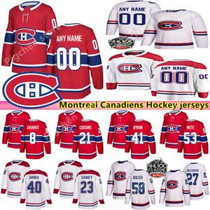 Los hombres de encargo Womans para niños de Montreal Canadiens jerseys 13 Max Domi 31 Precio Carey Gallagher Weber encargo cualquier nombre de cualquier camiseta número de hockey
