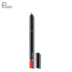 Pudaier26 Цвет Non-головокружение Клея Pen Блеск для губ Matte туман Поверхность водонепроницаемого линия губ Pen Желание Популярного Стиль