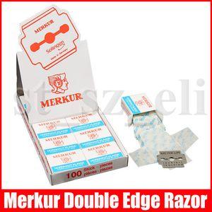 Ayak Pedikür aracı Mısır Kesici Bıçak manikür Kesici Bıçak Merkur Çift Kenar Razor 100pcs / set için