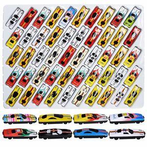 50pcs de metal Carros Brinquedos Alloy Car Racing Brinquedos / lote diferentes modelos de viaturas Brinquedos melhor brinquedo para crianças