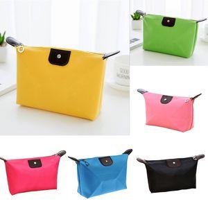 1PC Waterproof Cosmetic Makeup Bag Pencil Case Storage Pouch Purse Handbag