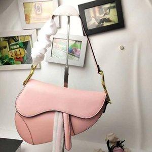 2020 Новый известный дизайнер женская сумка новое письмо сумка высокое качество натуральная кожа сумка Роскошные седло сумка