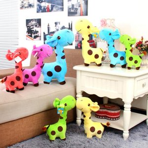 10pc 18cm presentes de aniversário Xmas bicho de pelúcia Plush Giraffe Toy Caro boneca Crianças Criança Bonito Veados brinquedos de pelúcia macia