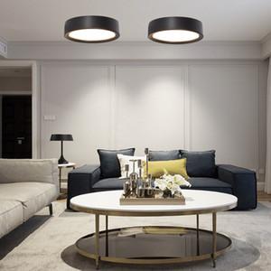 Ultra delgado 4 Color LED Lámpara de Techo Lámpara Moderna Sala de estar Dormitorio Baño Decoración del Hogar Cocina Montaje en Superficie AC220V