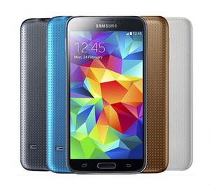 Original samsung galaxy s5 g900f g900p g900v g900a g900t com bateria original quad core 2 gb / 16 gb 4g 3g desbloqueado desbloqueado telefone