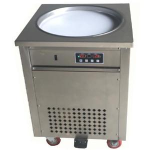 BEIJAMEI ticari dondurma makinesi / Tayland meyve kızartma dondurma makinesi paslanmaz çelik taşınabilir kızarmış yoğurt yapma