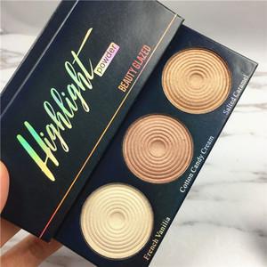 Красота Глазированных Highlight Powder Палитра Fix Контурную пудра для макияжа Продолжительной тени для глаз водостойкой косметики Хорошо