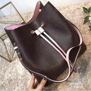 NEONOE bolsos de hombro Noé bolso de cuero para mujer marcas famosas diseñador Bolsos de moda estampado de flores bolso bandolera TWIST