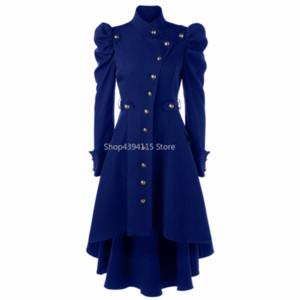 Winter Women Coat Black RedPlain Autumn Ladies Manteau Femme Long Trenchcoat Trench Girls Retro Shrug Vintage Overcoat