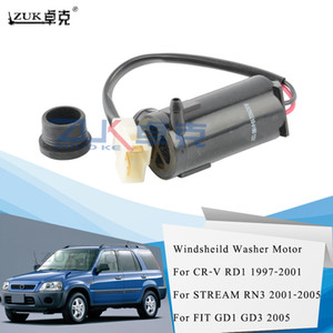 ZUK High Quality Rear Windsheild Windscreen Washer Motor Pump For CR-V 1997-2001 STREAM 2001-2005 FIT JAZZ 2005 76806-SE0-921