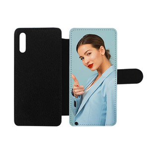 Sublimation Phone Case PU Leather Wallet Cover for Samsung A70 A50 A40 A30 A10 DIY Design Can Custom Your Logo for Galaxy S10