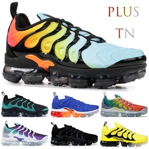Blanqueado Aqua Persian violet Plus Tn Hombres Zapatos para correr Olympic Product Triple Black Game royal Rainbow Sport Sneakers Trainers US 5.5-13