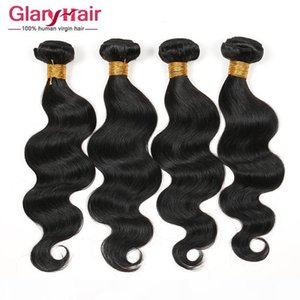 New Best Selling Brazilian Human Hair Extensions Unprocessed Indian Peruvian Malaysian Body Wave Hair Weaves Cheap Remy Hair Weft For Braid