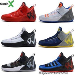 Westbrook porque não Zer0 1 Chaos Mens Sapatos de basquetebol para venda de ténis Westbrook de Alta Qualidade Tamanho 7-12