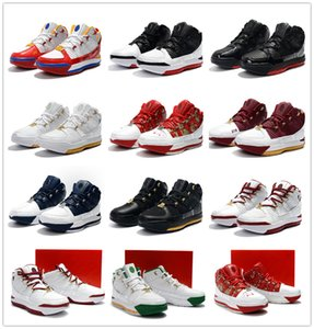 2019 Zoom LeBron 3 QS SVSM Домашняя мужская баскетбольная обувь James 3s White Navy SuperBron Zoom CTK China Edition Спортивные кроссовки
