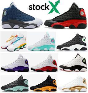 Zapatillas de baloncesto de Alta Calidad 13 Bred Chicago Flint Atmosphere Grey para Hombres Mujeres Zapatos de baloncesto 13s Got Game Melo DMP Hyper Royal Zapatillas con caja