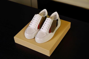 Burberry shoes En gros Nouveau Style Causal Chaussures Formateurs Arena homme Low Cut Sneaker mode Arena Designer Chaussures Drop Shipping bbr200416