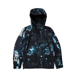 유럽과 미국의 거리 힙합 성격 나이트 워커 노스 재킷 뉴욕 야경 메트로폴리탄 재킷 조수 남성 디자이너