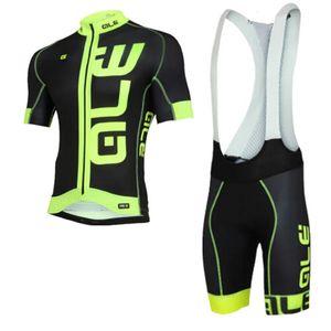 2020 TEAM ALE Ciclismo pantaloncini bici rilievo del gel di maglia impostate Ropa Ciclismo mens estate ad asciugatura rapida usura PRO Maillot Culotte K20042402