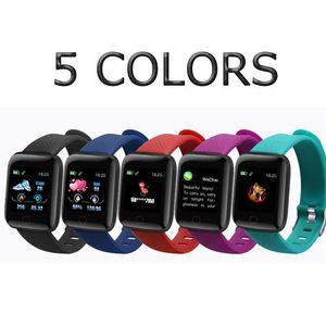 IPhone Band Smart Armband Armbänder Rate Tracker Plus Herz Bands Zählermonitor Aktivität Schritt Sport Fitness Watch für ID116 8 plus Ucrt